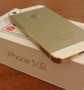 """Айфон 5s Gold """"отличное состояние"""""""
