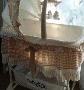 Кроватка колыбель baby ton