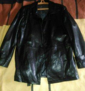 Куртка кожаная турецкая