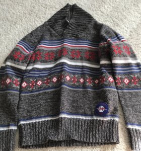 Джемпер для мальчика на зиму