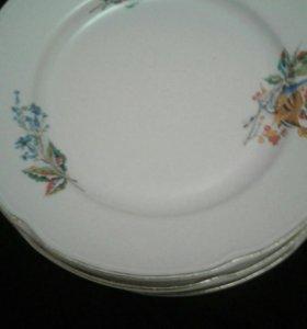 Большие тарелки для второго