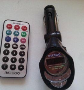 Трансмиттер MP3 FM модулятор CD MMC USB