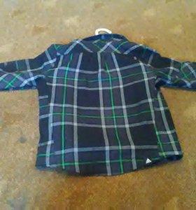 Шерстяная рубашка Adidas