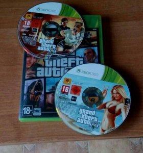 Grand Theft Auto 5 на XBOX 360