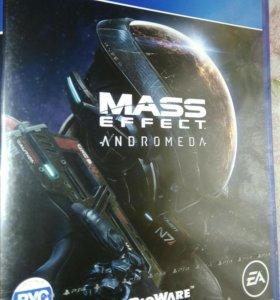 Продам диск mass effect andromeda ps4