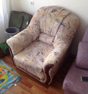 Кресло от мягкой мебели