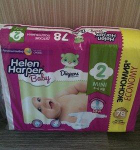 Памперсы Helen Harper2( 3-6 кг)