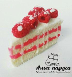 Мыло ручной работы тортик