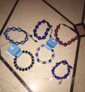Женские браслеты (шамбала)