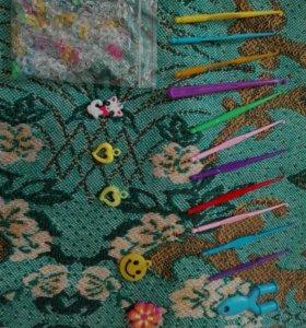 Пренадлежности для плетения из резиночек