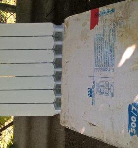 радиаторы отопления алюминиевые 7 секций 2 шт.