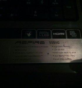 Ноутбук Acer 5551G