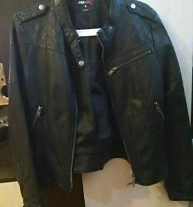 Кожаная куртка (иск.кожа)