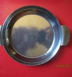 Тарелка порционная из нержавейки