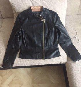 Новая женская кожаная куртка