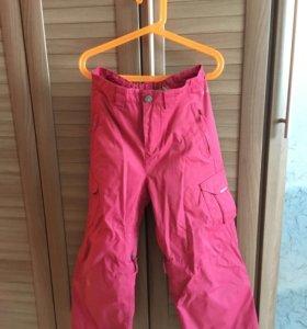 Зимние тёплые штаны для девочек
