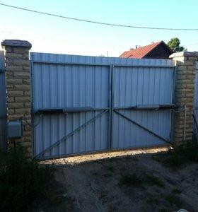 Монтаж окон, дверей, ворот.