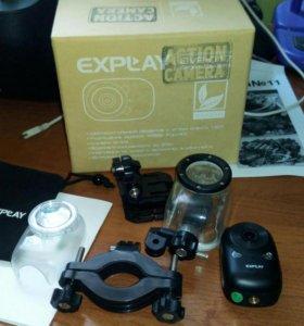 Экшн камера Explay DVR-017