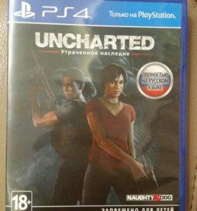 Uncharted lost legacy (утраченное наследие) Ps4