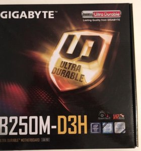 Продам Материнскую плату Gigabyte GA-B250M-D3H