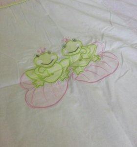 Комплект белья с одеялом и бортиками