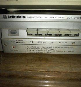 Кассетная дека Radiotehnika МП-7301 uSSR