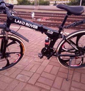 Велосипед на литых дисках