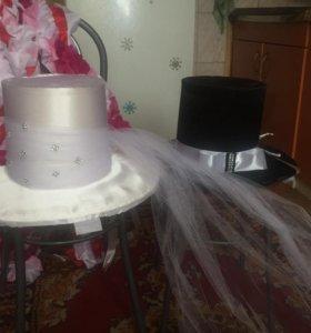 Украшения для свадебной машины