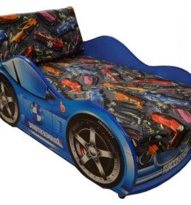 Детская кровать машина BMW