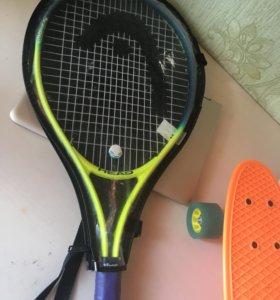 Теннисная ракетка как для проф. так и для новичков