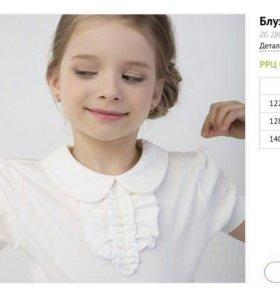 Новые блузки для девочки