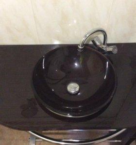 Тумбочка с раковиной для ванной комнаты