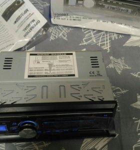 Магнитола с bluetooth, USB, AUX, SD новая