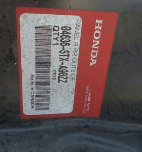 Боковина задняя правая Acura MDX II 04636STXA90ZZ