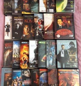 Фильмы и мультфильмы на DVD - 61 диск