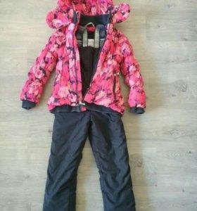 Костюм зимний shaluny для девочки 5-7лет