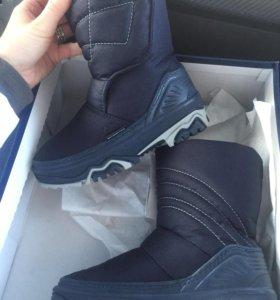 Сапоги ботинки зимние 29-30 р