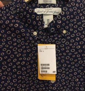 Рубашка новая!H&M (L)