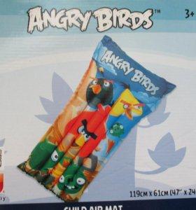 """Матрас """"Angry Birds"""" для плавания"""