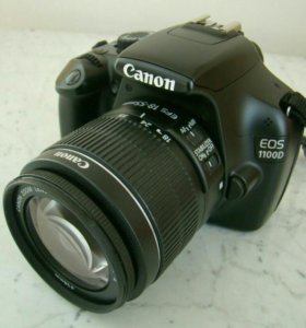 Фотоаппарат canon 1100d kit
