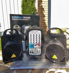 Behringer EUROPORT EPA300 портативная система