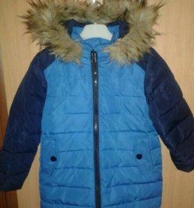 Куртка-пуховик р .116