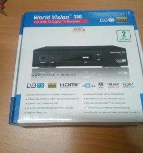 dvb-t2 приёмник WorldVision T40