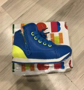 Ботинки, новые! Размер 25