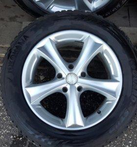 Колеса от Audi Q7