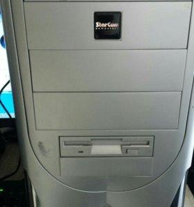 "Компьютер e2140/ddr2 2Gb/160Gb + монитор HP 17"""