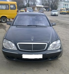 Мерседес S500 W220