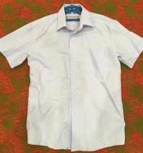 Рубашки школьные на мальчика 150см