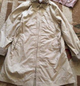 Куртка ветровка удлинённая 54-56 размер