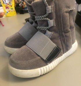 Демисезонные ботинки 28 р